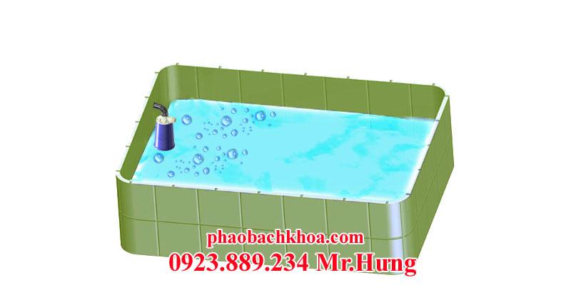 Van phao bể nước